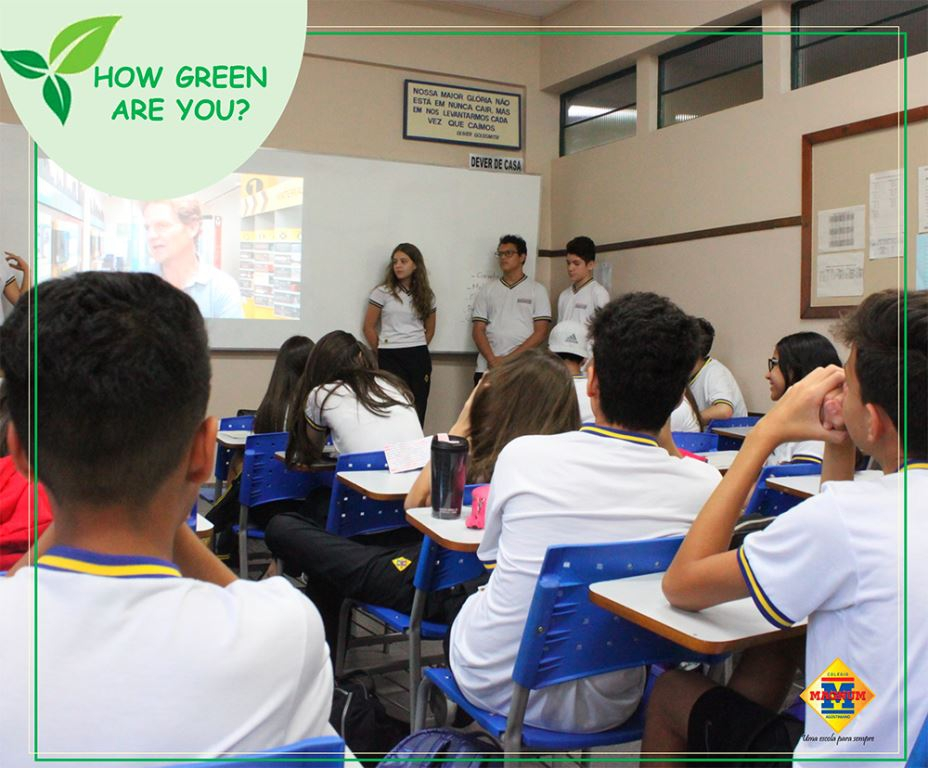 """How green are you?"" - O quão verde você é?"