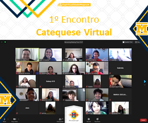 1º Encontro Catequese Virtual