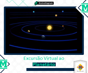 Excursão virtual do Planetário
