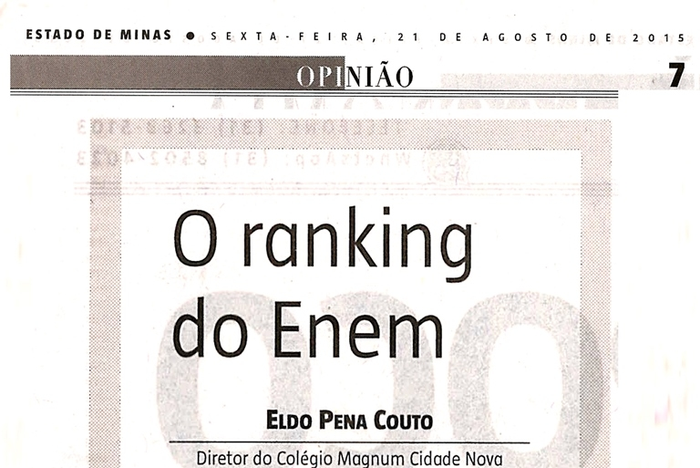 O ranking do Enem