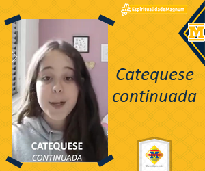 #CatequeseVirtual: É amanhã!