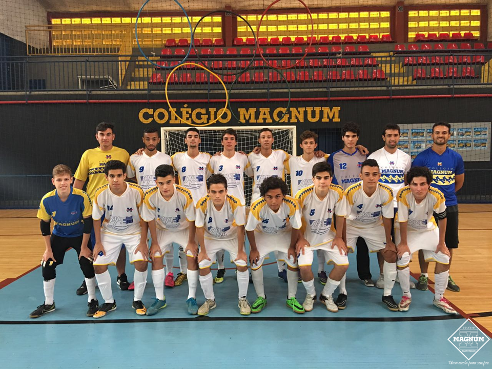 Equipe de Futsal masculina sub 17 se classifica para as semifinais do Metropolitano